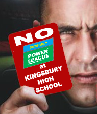No Lucozade Powerleague at Kingsbury High School