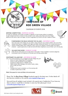 100 Years of Roe Green Village